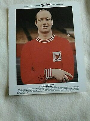 Terry Hennessey NOTTS FOREST TYPHOO TEA FOOTBALL CARD VGG