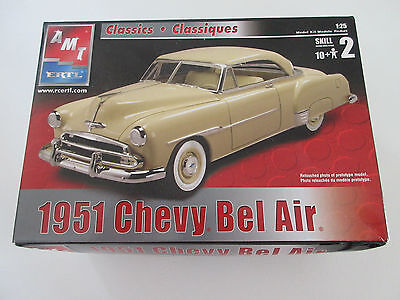 1951 Chevy Bel Air AMT 1:25 scale model kit