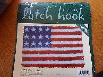 Anchor Latch Hook  Rug Stars And Stripes