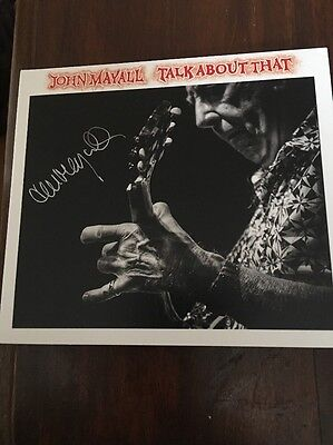 john mayall Talk About That Cd Signed
