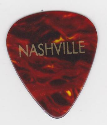 NASHVILLE Tennessee GUITAR PICK BROWN TURTLE Music City Country Music Opry USA