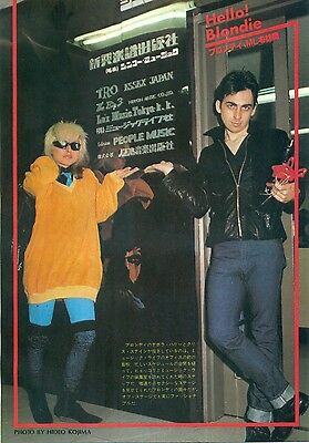 Blondie / Debbie Harry - Clippings From Japanese Magazine Music Life 1978/1979