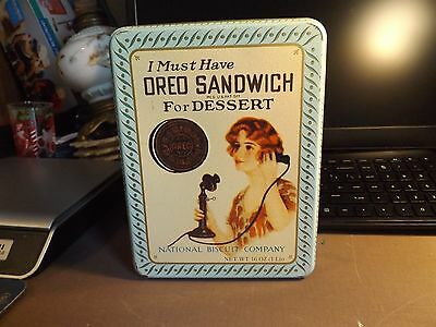 1918 reproduction of oreo cookie tin