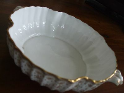Spode Fleur De Lys Gold Vegetable Dish / Tureen Base Only Made in England