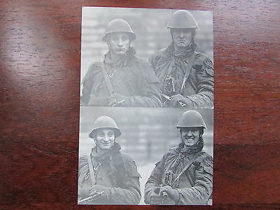 Vintage Postcard  How can they look like this or that Checkpoint Charlie Unused