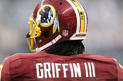 Robert Griffin Rg Iii Game Worn Used Redskins Jersey Photo Matched Meigray Loa
