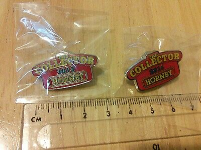 The Collector Hornby 2013 2014 enamel pin badge