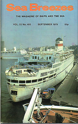 """Sea Breezes Sept 1979 The """"Eillian"""" Remembered, Liverpool Pilotage In 19th Centu"""