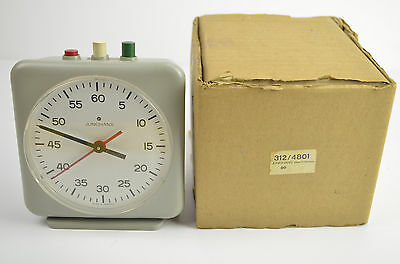 Junghans Germany Darkroom Photography Mechanical Timer Clock with original box