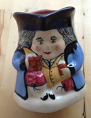 """Lovely Traditional Large TOBY JUG - 5"""" tall / 4"""" base"""