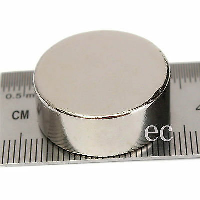 Very Strong 12mm Diameter x 5mm Thickness N35 Grade Neodymium Disc Round Magnets