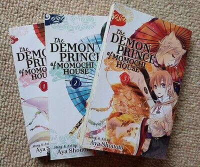 Demon Prince of Momochi House volumes 1-3