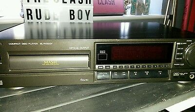 Technics Sl-Pg500A Compact Disc Player With Remote