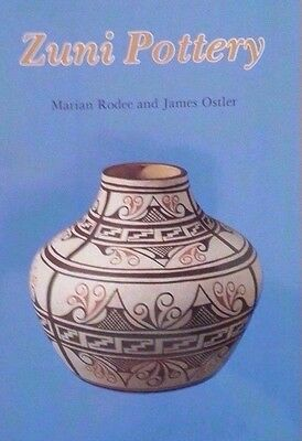 Vintage Zuni Pottery Reference Guide Collector's Book