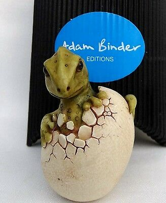 'Hatchling Dragon' Green NETSUKE Timed Edition Adam Binder  2012 U.K