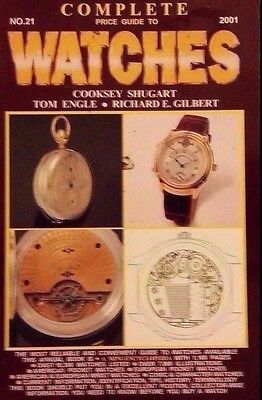 WATCH ENCYCLOPEDIA VALUE GUIDE COLLECTOR'S BOOK 17,000+  LISTINGS No.21