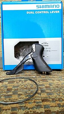Shimano 105 5800 left hand double Black STI BNIB