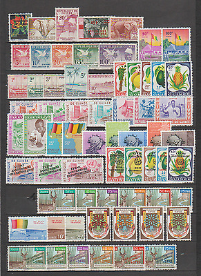 Guinée Beau Lot 340 Timbres Neuf ** Luxe  Top Affaire !!!!!!!