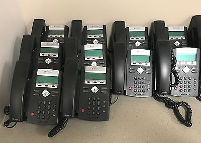 Lot of  15 Polycom IP335 Sound Point phones and 2 IP5000 conference phones