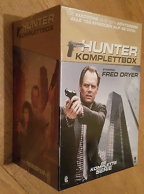 Hunter: The Complete Series (Fred Dryer) 42 DVD Box Set Region 2 NEW SEALED