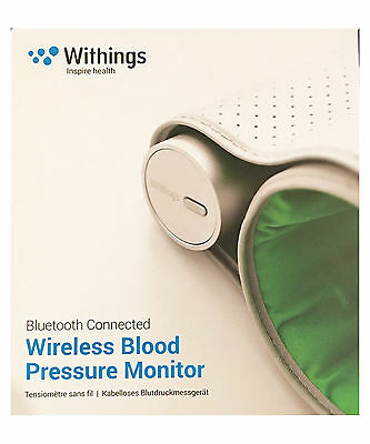 NEW SEALED Withings Wireless Blood Pressure Monitor BP-801 Bluetooth iOS Android