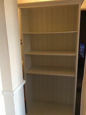 Large White Bookcase With 4 Shelves...Great For Playroom/Bedroom From Fy4