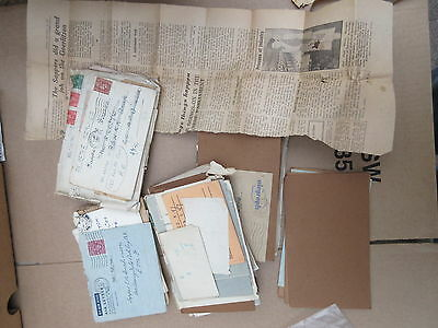 WW2 letters to Lance Corporal E R Stretch RE nos 2160376 includes airgraph 43/44