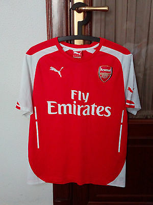 Official ARSENAL home shirt to PREMIER LEAGUE 2014-15