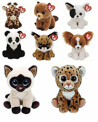 TY Large Selection of Beanie Babies in Variety of Sizes - Plush Soft Toys