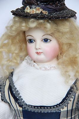 Antique French Bisque Head Fashion Doll