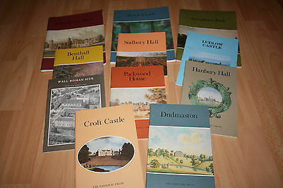 11 National Trust / Other Property Booklets In Excellent Condition