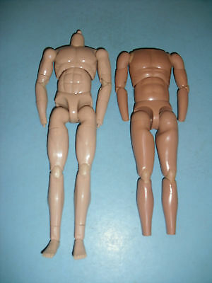 "1/6 Action Figure   "" 2 Fully Articulated Muscular Bodys Only  / A"