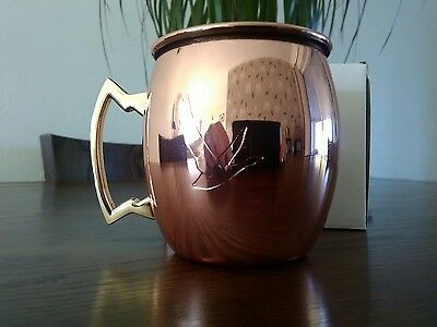1 x Grey Goose Vodka Copper Moscow Mule Cup New