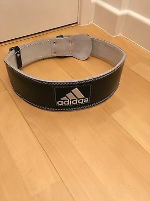 Adidas Leather Weight Lifting Belt - BRAND NEW size L/XL