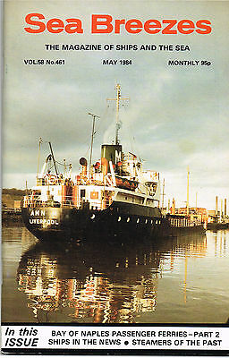 Sea Breezes May 1984 BAY OF NAPLES PASSENGER FERRIES-PART 2 SHIPS IN THE NEWS •