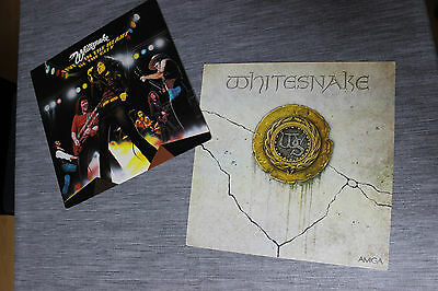 LP Sammlung von Whitesnake / Live ..In The Heart Of The City USA+ Amiga Records