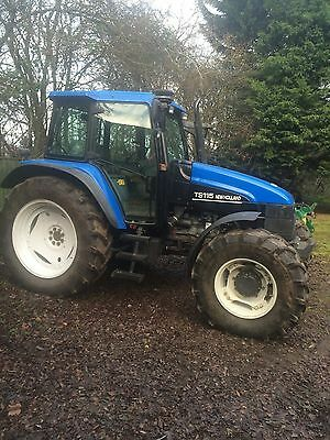 New Holland TS115 Tractor 4WD