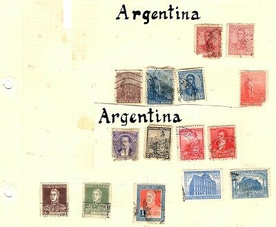 Argentina - old to new used collection