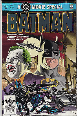 1989 A Dc Movie Special Batman Issue 1