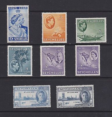 Stamps Seychelles MH selection Victory set MNH