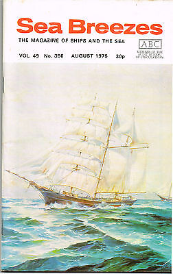 """Sea Breezes Aug 1975 Whither The """"Northern Star""""?, """"Herzogin Cecilie"""" In 1974"""
