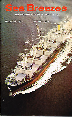 Sea Breezes Aug 1978 Wrecked In The Great Lakes, Old Timers Of Singapore