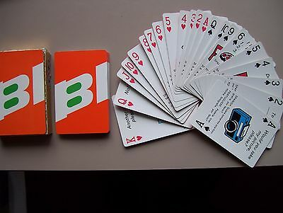 """Brianiff International Airways """"phrases"""" Deck Of Playing Cards.(Unused=Mint)"""