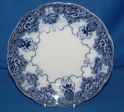 """Vintage blue and white 8"""" (20cm) plate"""