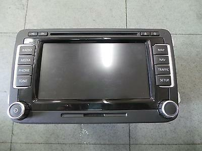 Volkswagen Passat Radio/cd/dvd/sat/tv Touch Screen Navigation (Rns510), 04/11- 1