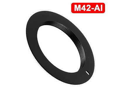 M42 Lens to Nikon Body Non Flanged Adapter Mount for NIKON SLR DSLR - UK SELLER