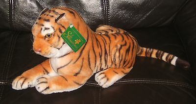 Soft Plush Tiger- Zoo-Wild Animal Toy - Gift