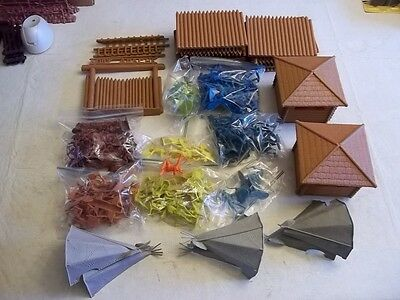 Vintage Marx Fort Apache Play Set With Extras
