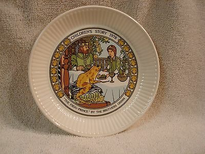 Wedgwood Childrens Story 1978 Plate The Frog Prince Brothers Grimm Made England