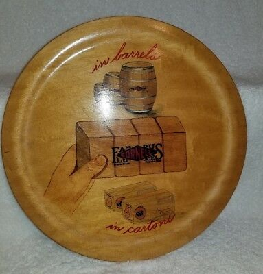 """Maine's Own """"Art On Wood"""" Barneys Studios Portland ME Cornell Famous Luxe Tray"""